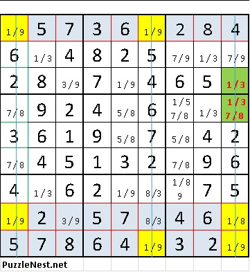 Sudoku Swordfish Strategy